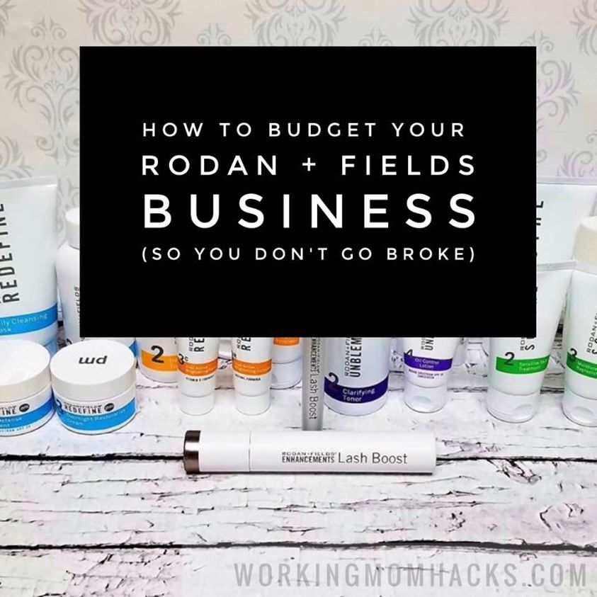 How to budget rodan and fields